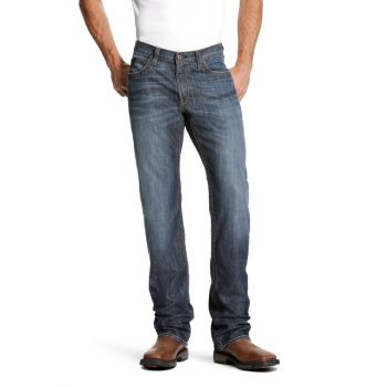 Men's FR M4 Low Rise Stretch DuraLight Basic Boot Cut Jeans – Lassen