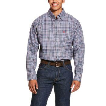 Men's FR Cherokee Work Shirt - Silver Filigree