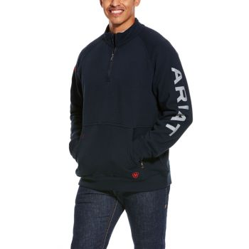Men's FR Primo Fleece Logo ¼ Zip Sweater