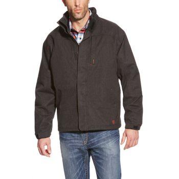 Men's FR Insulated Waterproof Jacket – Black