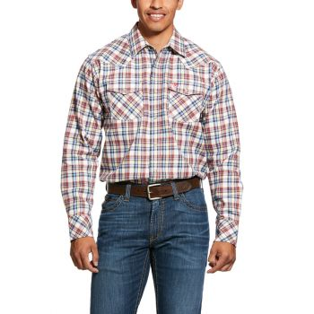 Men's FR Granite Retro Snap Shirt – Multi