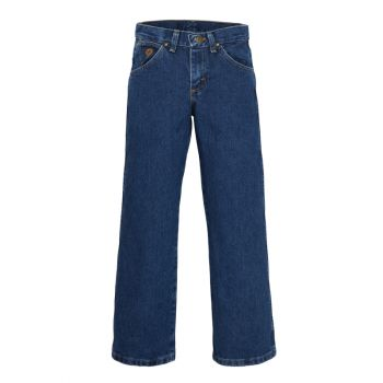 Boy's George Strait Cowboy Cut Original Fit Jean – Heavy Denim Stone