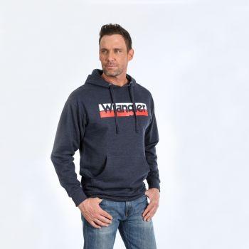 Men's Long Sleeve Logo Pullover Hoodie