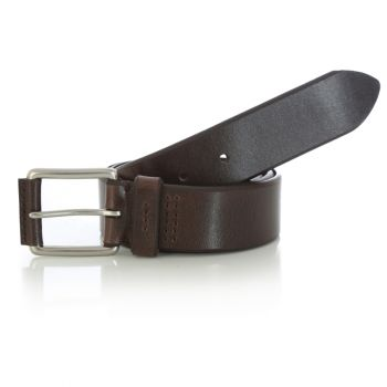 Men's Covered Buckle Belt – Chocolate