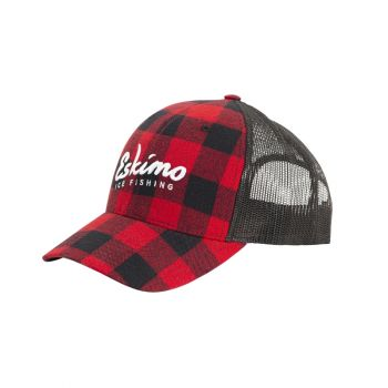 Eskimo Buffalo Plaid Trucker Cap