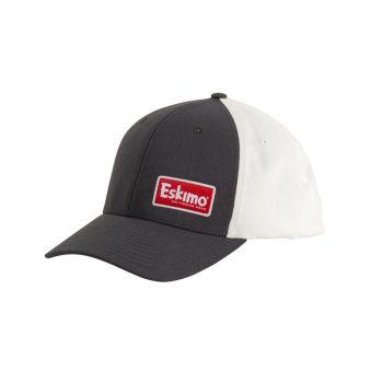 Eskimo Gray Patch Cap, L/XL