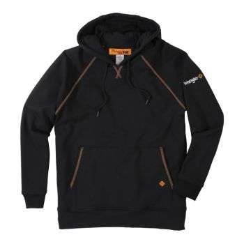 Men's Flame Resistant Hooded Sweatshirt – Black