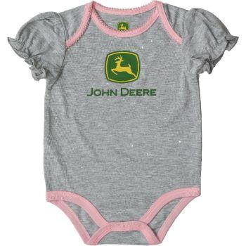 John Deere Girl's Trademark Bodysuit