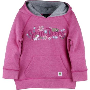 Toddler Girl's John Deere Long Sleeve  Fleece