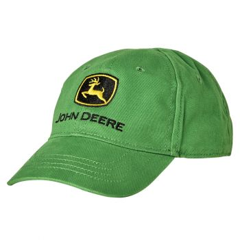 Toddler Green Trademark  Logo Cap, Toddler