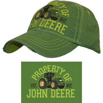 Youth Property Of John Deere Cap, Youth