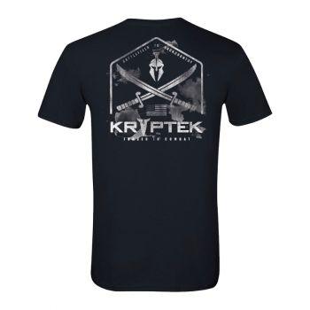 Kryptek Short Sleeve Graphic Tee, Black, L