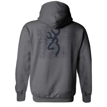 Browning Men's Logo Pullover, Charcoal