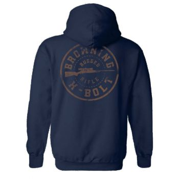 Browning Men's Rugged Rifle Logo Pullover