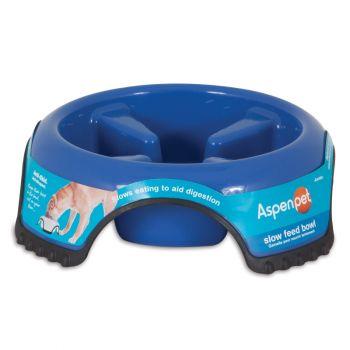 Aspen Pet Skid Stop Slow Feed Bowl, Jumbo