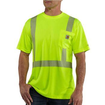 Men's Force High-Visibility Short-Sleeve Class 2 T-Shirt - Brite Lime
