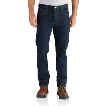 Men's Rugged Flex Straight Fit Tapered Leg Jean
