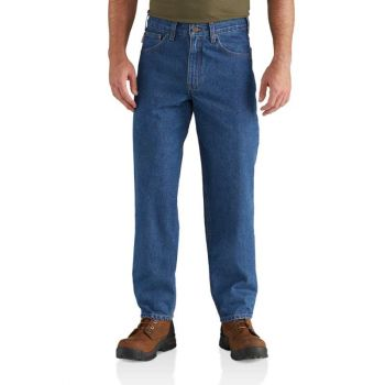 Men's Relaxed Fit Tapered Leg Jean – Darkstone