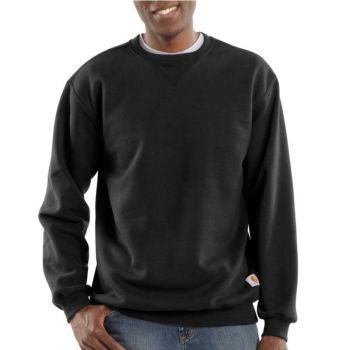 Men's Midweight Crewneck Sweatshirt - Black,3XL