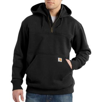 Men's Rain Defender Paxton Heavyweight Zip Mock Hooded Sweatshirt