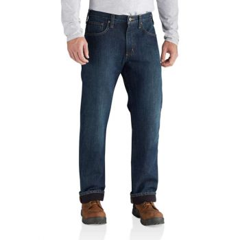 Men's Relaxed-Fit Holter Jean / Fleece Lined - Blue Ridge/Black lining