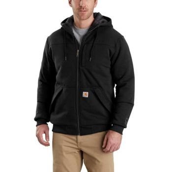Men's Rain Defender Rockland Quilt-Lined Full-Zip Hooded Sweatshirt