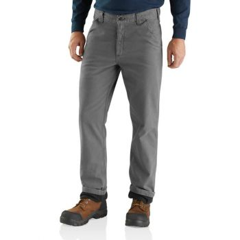 Men's Rugged Flex Rigby Dungaree Knit Lined Pant