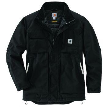 Carhartt Yukon Extremes Full Swing Insulated Coat, Black