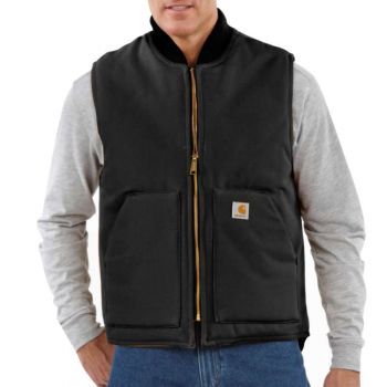 Men's Duck Vest – Black