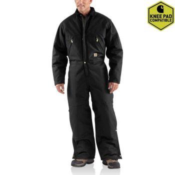 Men's Yukon Coveralls – Black