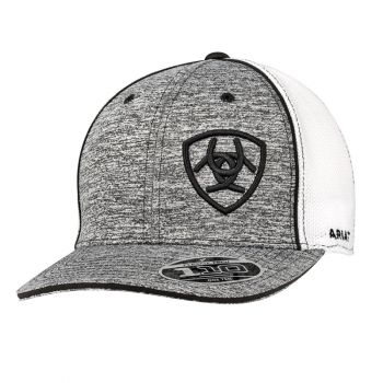 Flex Fit Grey & White Snap Back Cap