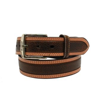 Diesel Brown Rowdy Leather Belt