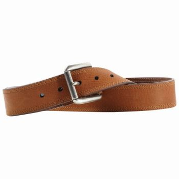 Triple Stitch Brown Sunshine Work Belt