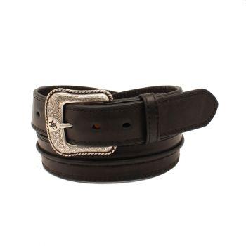 Black Western Center Bump Belt