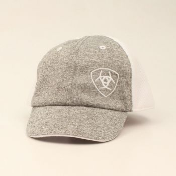 Infant Heather Grey/White Cap