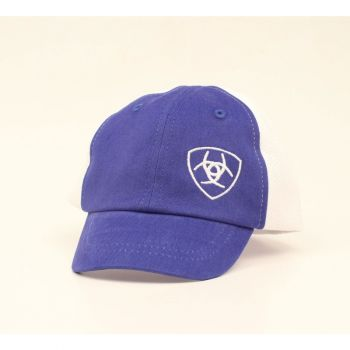 Infant Blue/White Ball Cap