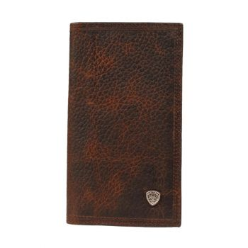 Distressed Brown Rowdy Rodeo Wallet