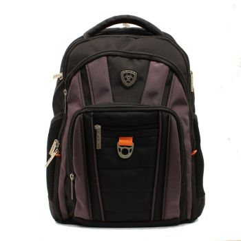 Black Bungee Cord Front Backpack