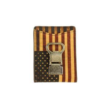 Vintage USA Flag Money Clip