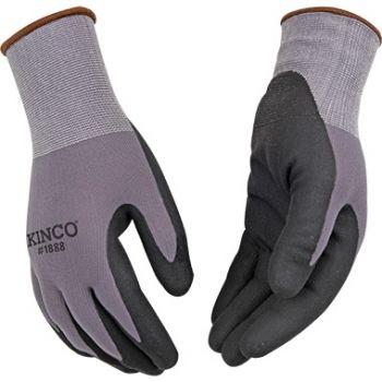 Nylon Knit Shell & Micro-Foam Nitrile Palm 3PK, L