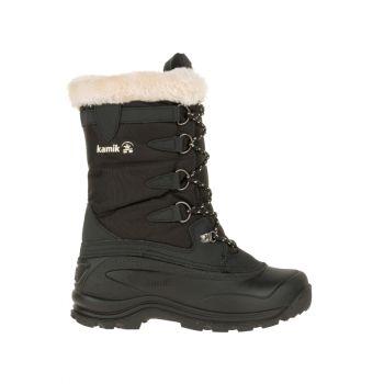 Kamik Women's Shellback Waterproof Boot, Black