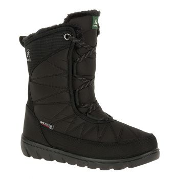 Kamik Women's Hannah Mid Waterproof Boot, Black