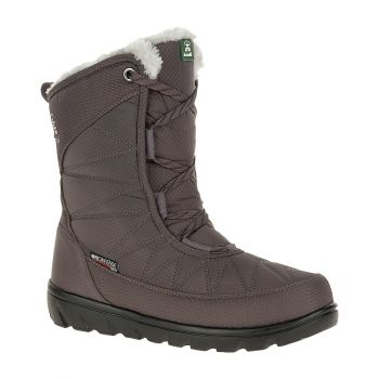 Kamik Women's Hannah Mid Waterproof Boot, Charcoal