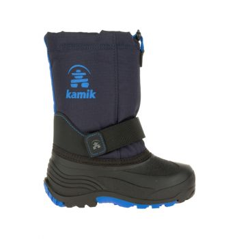 Kamik Youth Rocket Waterproof Boot, Navy