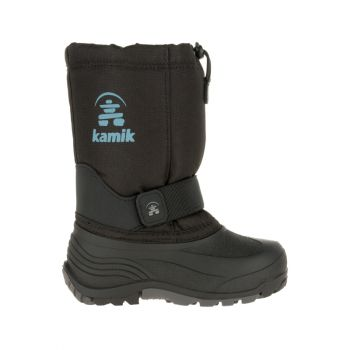 Kamik Children's Rocket Waterproof Boot, Black