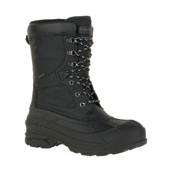Kamik Men's Nation Pro Waterproof Boot, Black