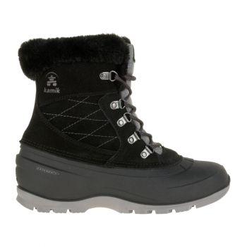 Kamik Women's Snovalley L Waterproof Boot, Black