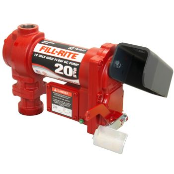 12V 20 GPM Fuel Transfer Pump