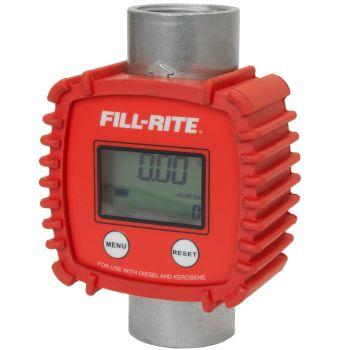 3-26 GPM Inline Digital Flow Meter, Aluminum