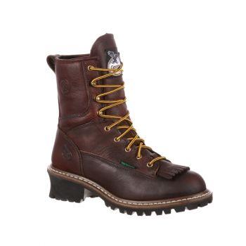 Georgia Boot Steel Toe Waterproof Logger Boot